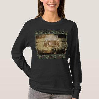 Militärt fordon t-shirts
