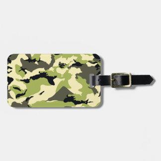 militärt kamouflagemönster bagagebricka
