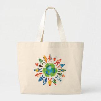 Miljömedvetande Tote Bags