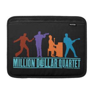 Miljon dollarkvartett arrangerar på MacBook sleeve