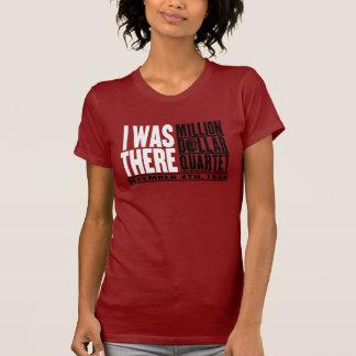 """Miljon dollarkvartett """"var jag där """", t shirt"""