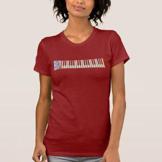 Miljon dollarkvartettpiano t-shirts