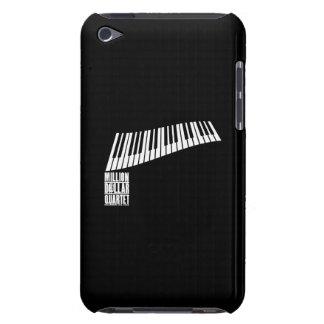 Miljon dollarkvartettpiano - vit barely there iPod skal