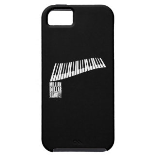 Miljon dollarkvartettpiano - vit iPhone 5 Case-Mate fodraler