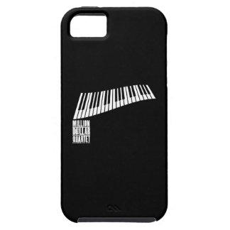 Miljon dollarkvartettpiano - vit iPhone 5 Case-Mate skydd