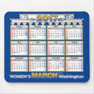 Miljon kvinna mars på Washington Mousepad 2017 Musmattor