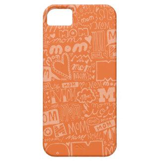 Miljon mammor! (Orange) iPhone 5 Fodral