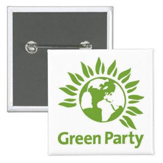 Miljöpartiet Standard Kanpp Fyrkantig 5.1 Cm