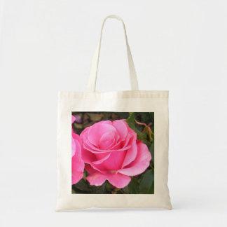 Miljövänlig toto för rosa rosfoto tote bag
