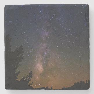 Milky långt natthimmel, Kalifornien Stenunderlägg