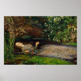 Millais Ophelia CC0008 affisch