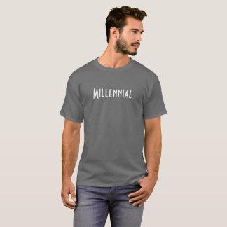 Millennial manar T-tröja Tröjor