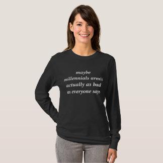 millennial serviceskjorta tee shirt