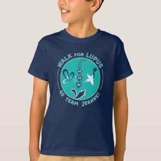 """Milo'sens """"lagJeanne"""" Lupus går T-shirts"""