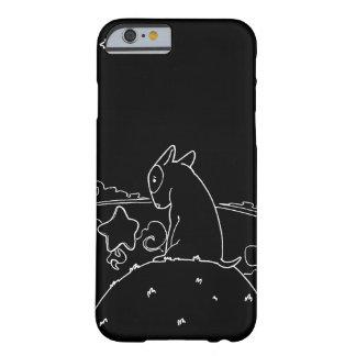 Milosvart & vit (original- tjurTerrierkonstverk) Barely There iPhone 6 Fodral