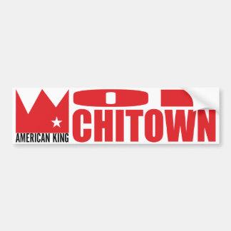 MIMAREbildekal - amerikankung av Chi-Townen