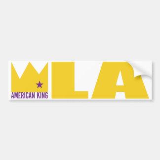 MIMAREbildekal - amerikankung av L.A.