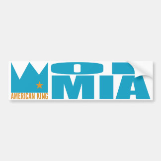 MIMAREbildekal - amerikankung av MIA