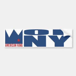 MIMAREbildekal - amerikankung av N.Y.