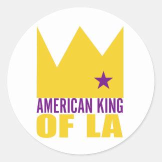 MIMAREklistermärke - amerikankung av L A