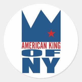 MIMAREklistermärke - amerikankung av NY