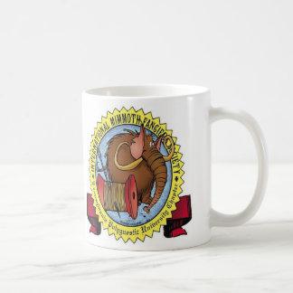 Mimmoth fanciers samhälle kaffemugg