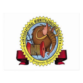 Mimmoth fanciers samhälle vykort
