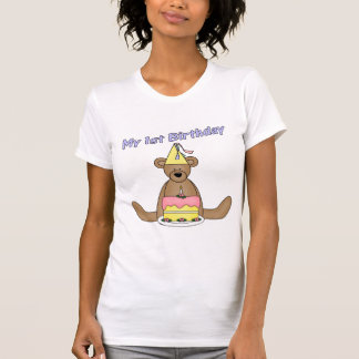 Min 1st födelsedag t-shirts