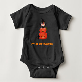 Min 1st Halloween babyhäxa Tröjor