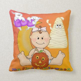 Min 1st Halloween dekorativ kudde