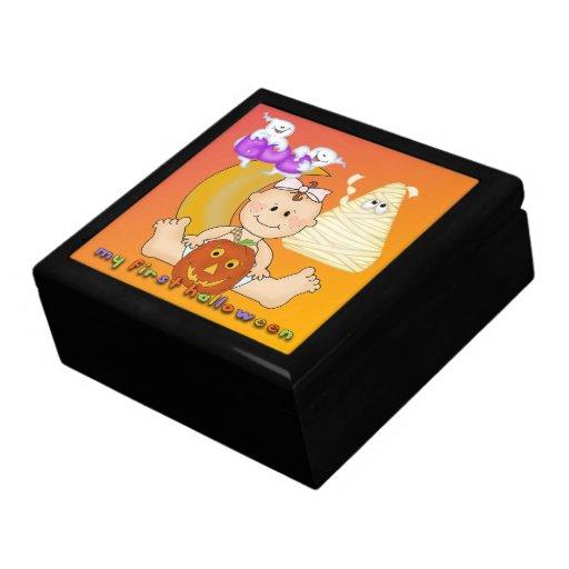 Min 1st Halloween gåva boxas/billig prydnadssak bo Minnessakar