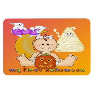 Min 1st Halloween sladdmagneter Rektangel Magneter