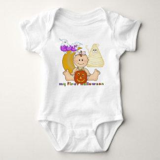 Min 1st Halloween spädbarnranka Tshirts