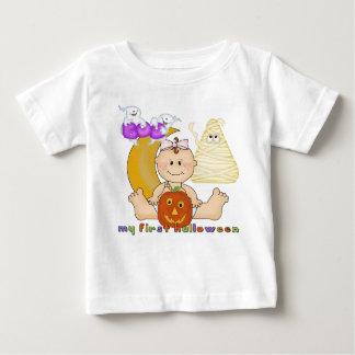 Min 1st Halloween spädbarnT-tröja Tee Shirts
