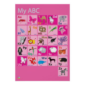 Min ABC Poster