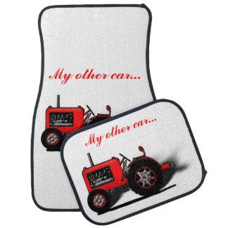 Min annan bil…, (Traktoren avbildar eller ditt Bil Golvmatta