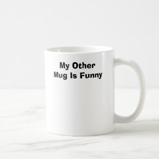 Min annan mugg är rolig
