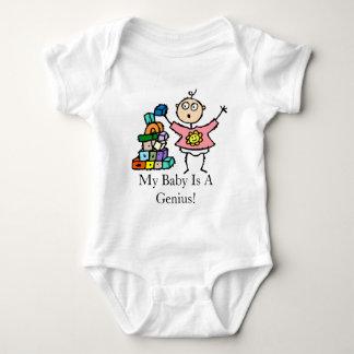 Min baby är ett snille! Förtjusande begynna Tshirts
