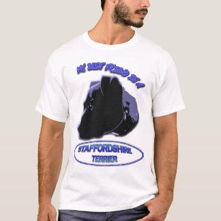 Min bästa vän är en STAFFORDSHIRE TERRIER T Shirt