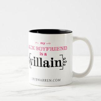 Min bokpojkvän är en Villain Två-Tonad Mugg