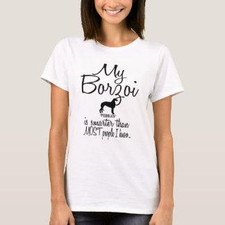 Min Borzoi är mer smart än mest folk T Shirt