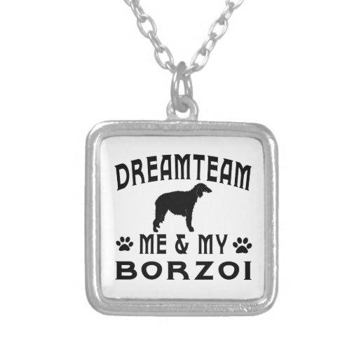 Min Borzoihund Smycken