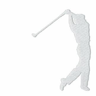 Min broderade PulloverHoodie för sport Golf Munkjacka