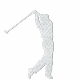 Min broderade ulljacka för sport Golf