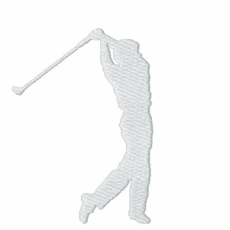 Min broderade ulljacka för sport Golf Broderade Jackor