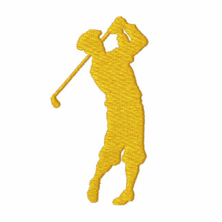 Min broderade ulljacka för sport Golf Jacka