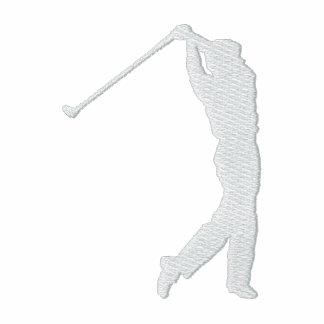 Min broderade ulljacka för sport Golf Broderade Track Jacket