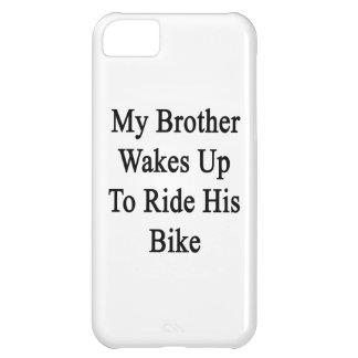 Min brodervak rider upp till hans cykel iPhone 5C skal