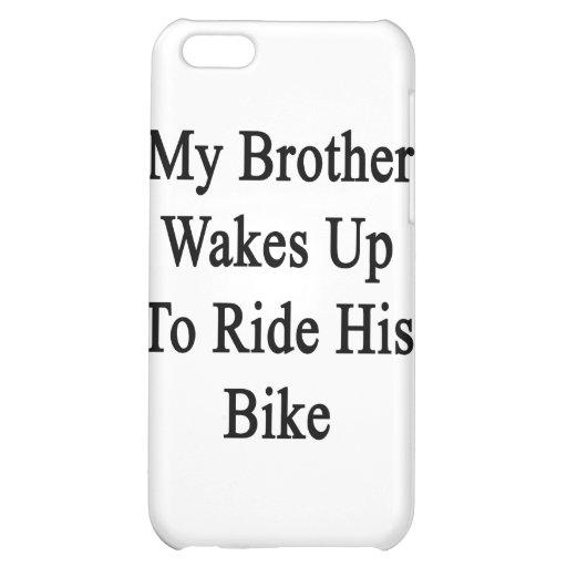Min brodervak rider upp till hans cykel iPhone 5C mobil skal
