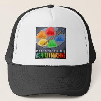 Min favorit- färg är asfaltmaskinhatten keps